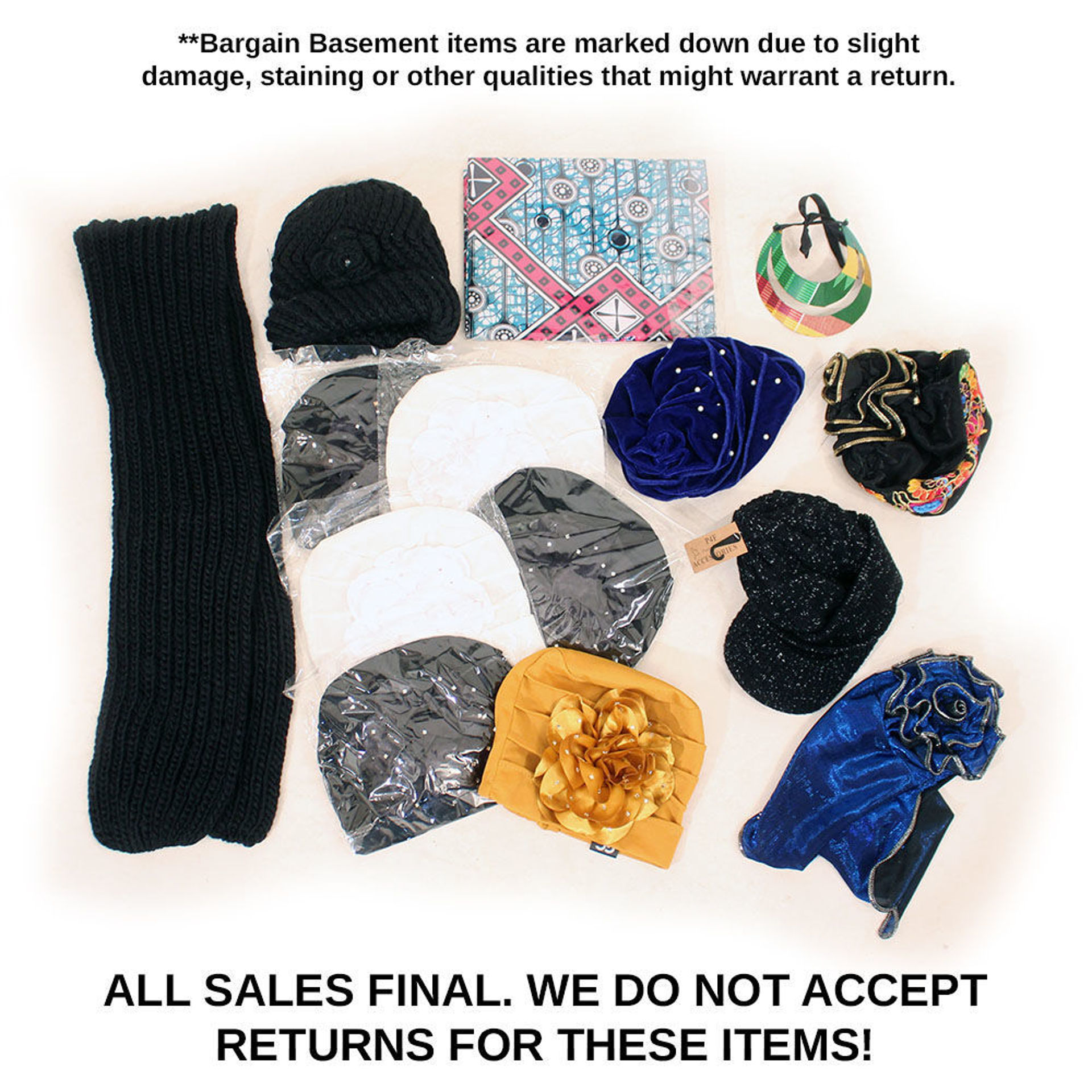 Picture of Assorted Hats - Set A