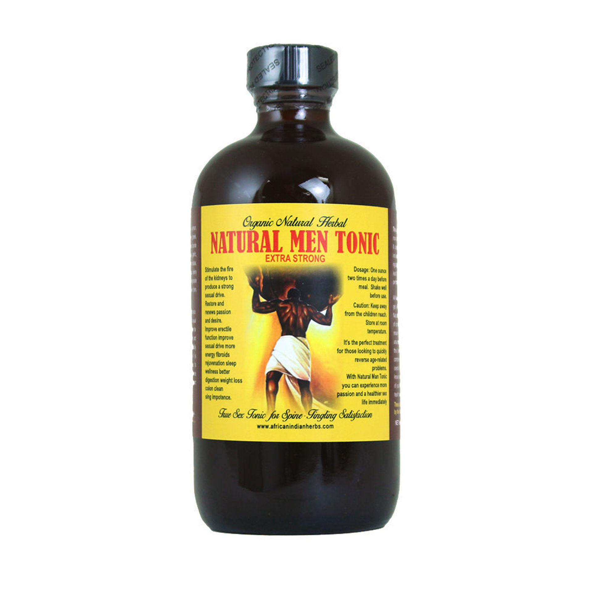 Picture of Natural Men Tonic -  8 oz.