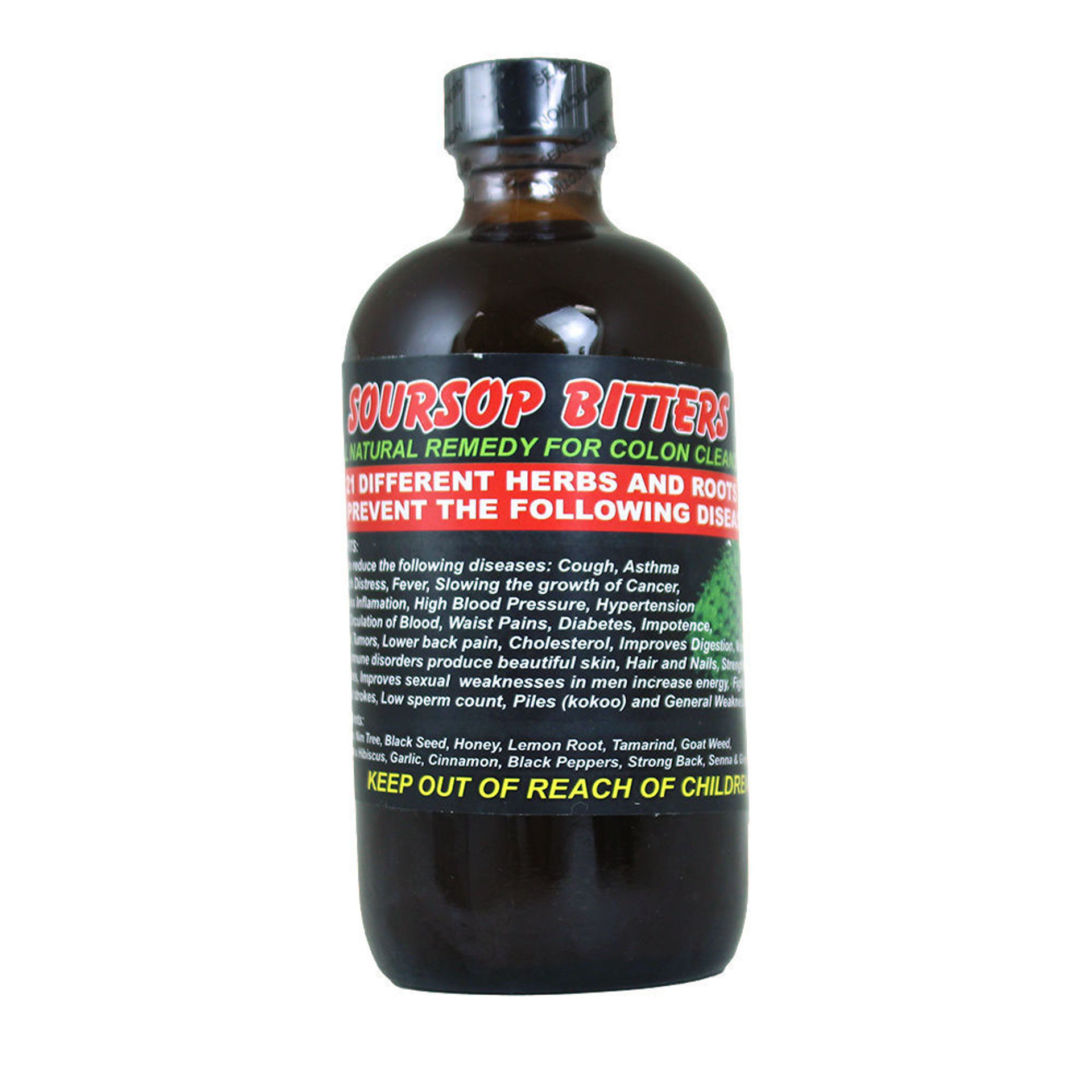 Picture of Soursop Bitters -  8 oz.