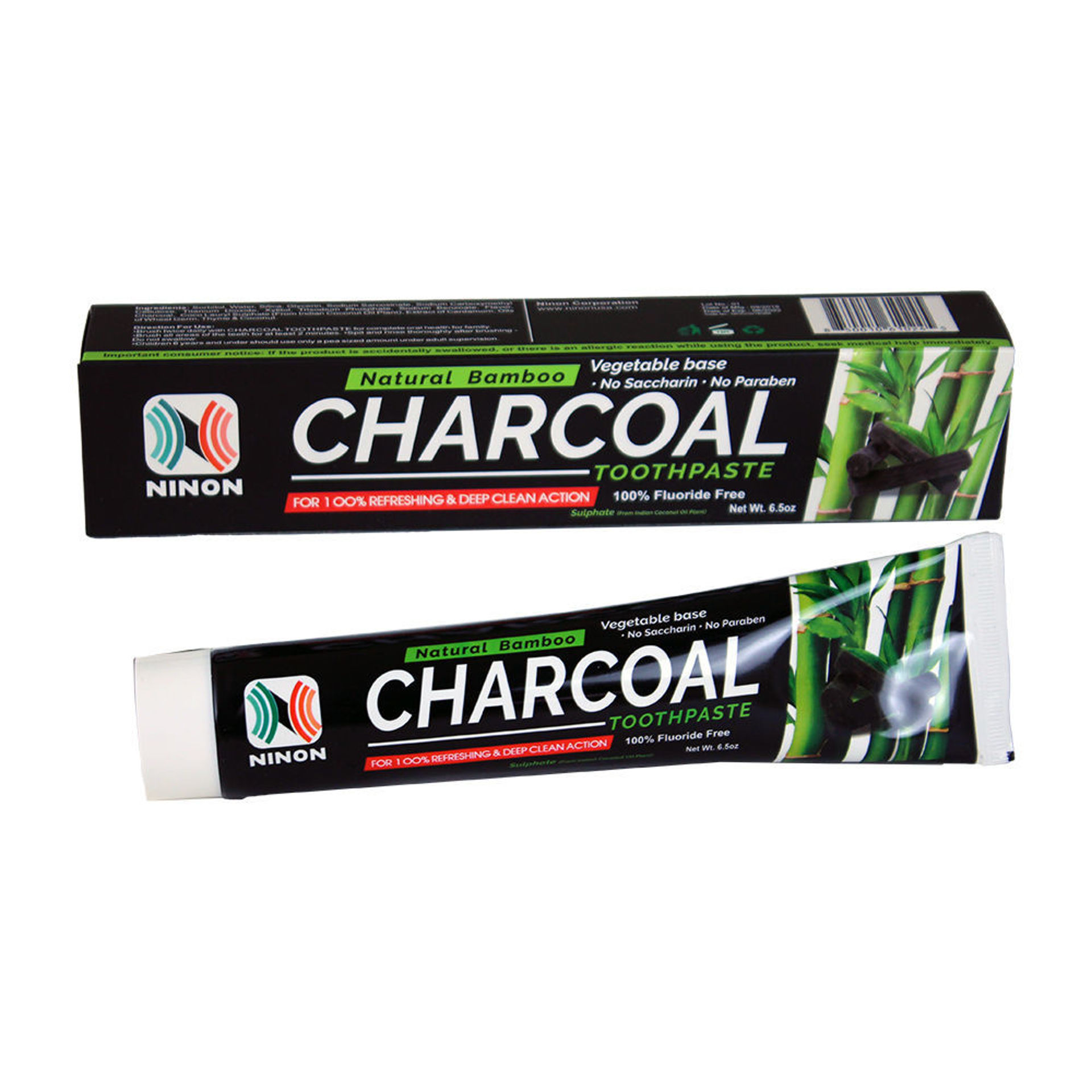Picture of Natural Bamboo Charcoal Toothpaste