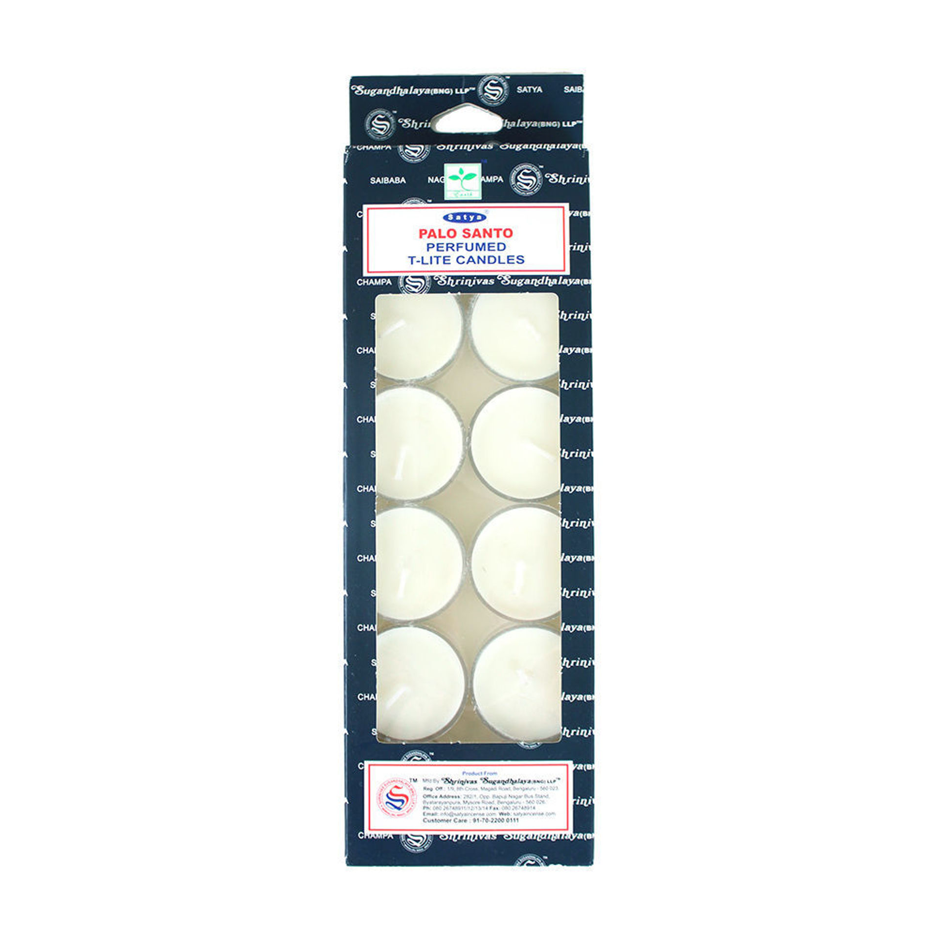 Picture of Palo Santo Tea Light Candles - Set Of 12