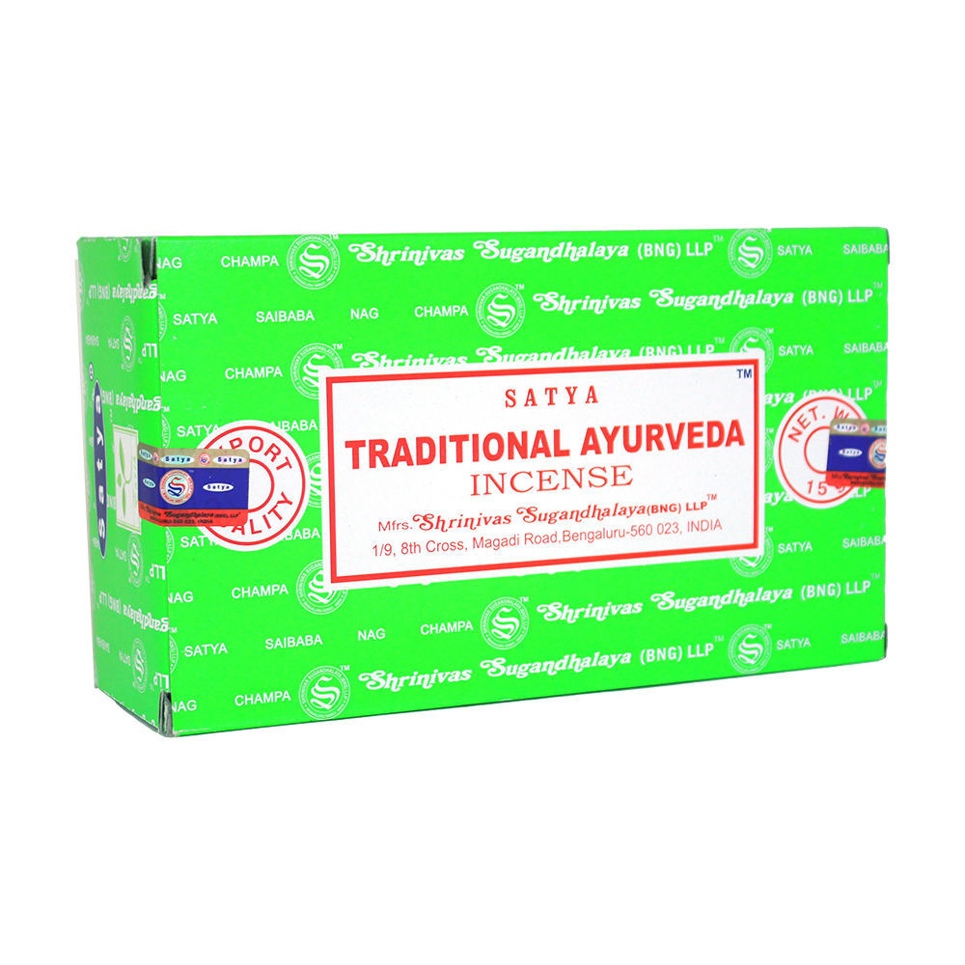 Picture of Ayurveda Incense - 15 g (12-Pack Box)