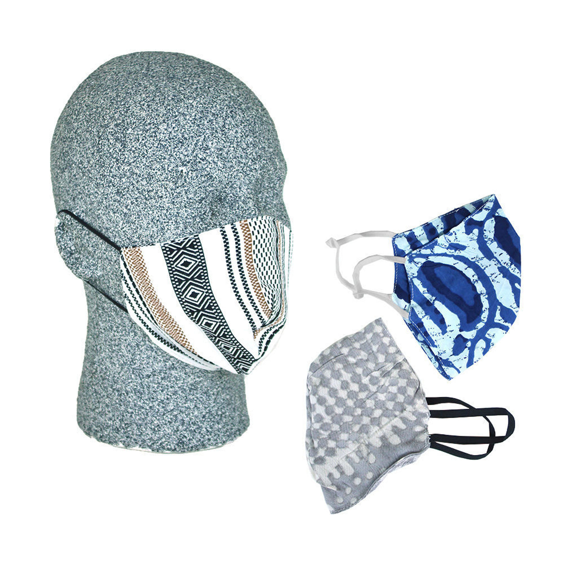 Picture of Set Of 3 Elastic Ear-Loop Face Mask