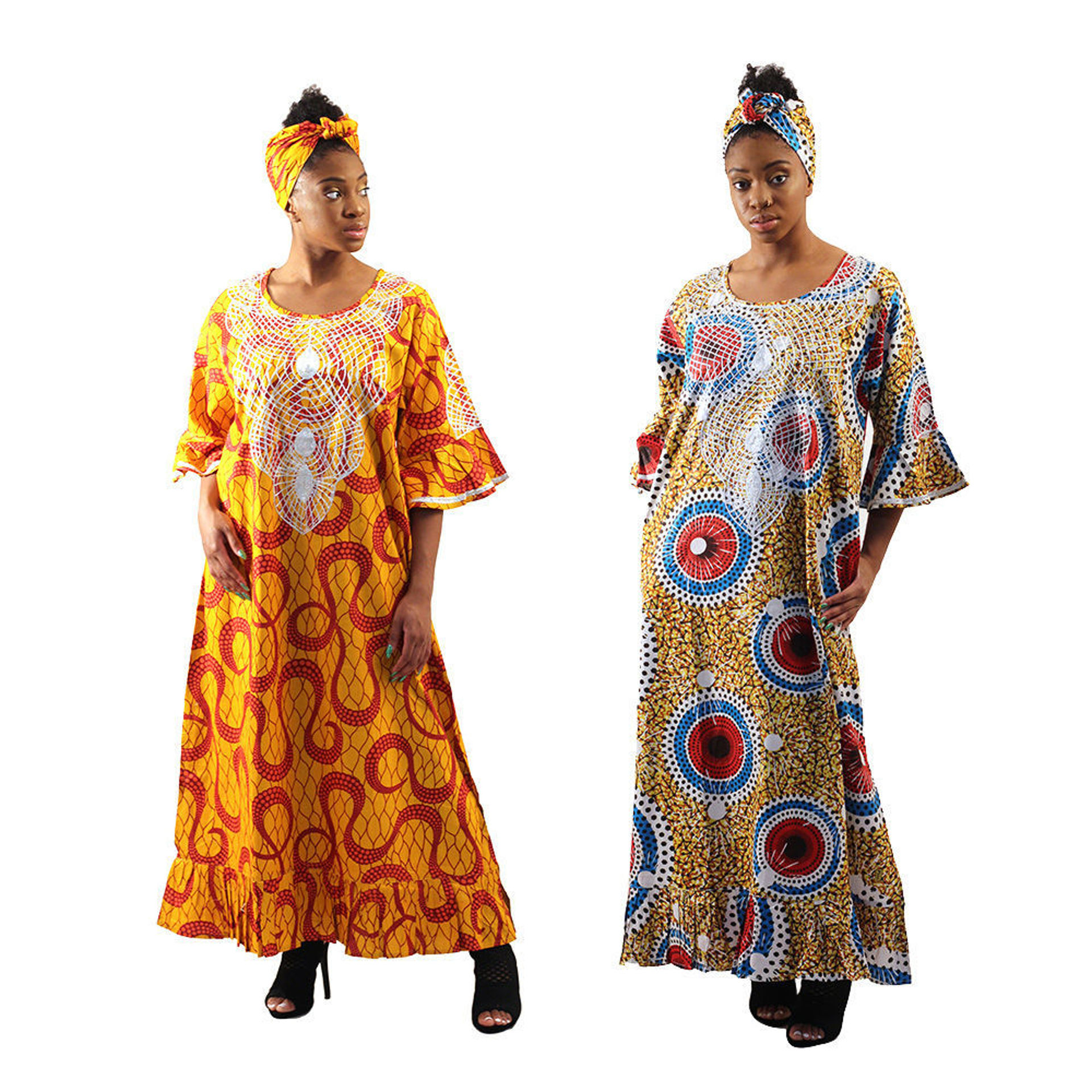 Picture of African Print Gown