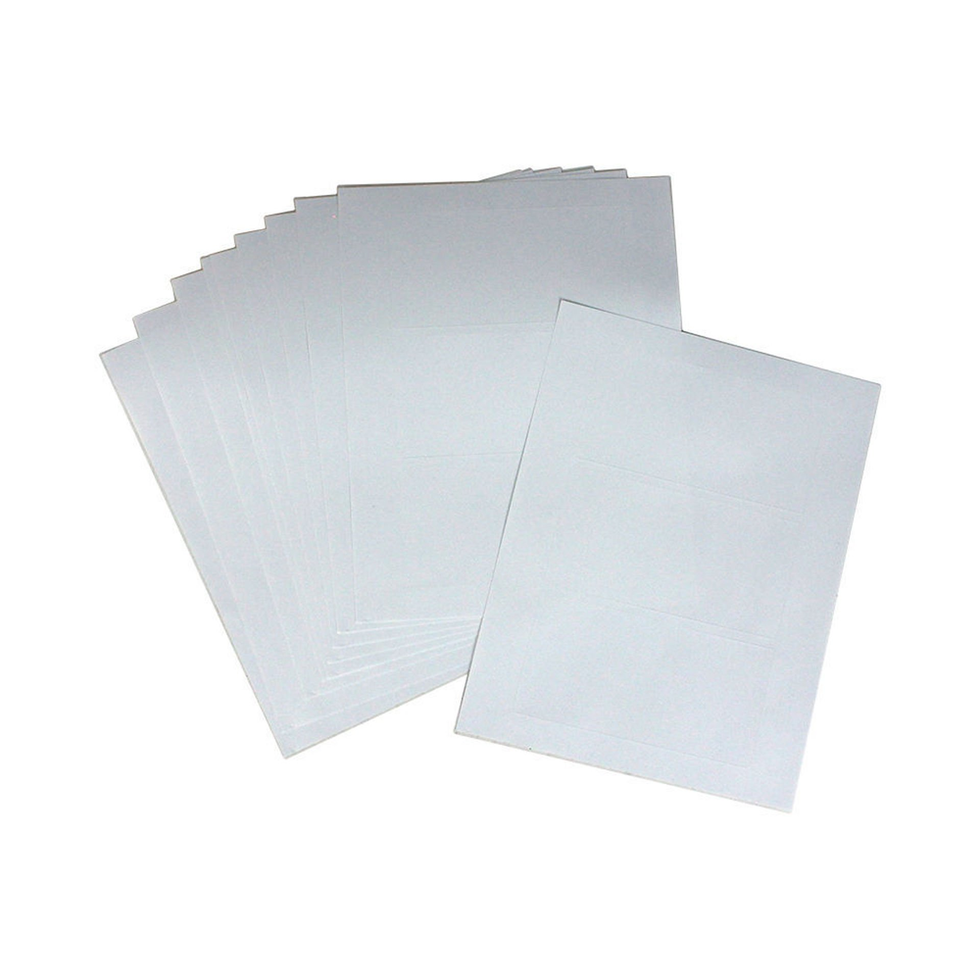 Picture of 10 Sheets Of Over-Sized Gloss Labels