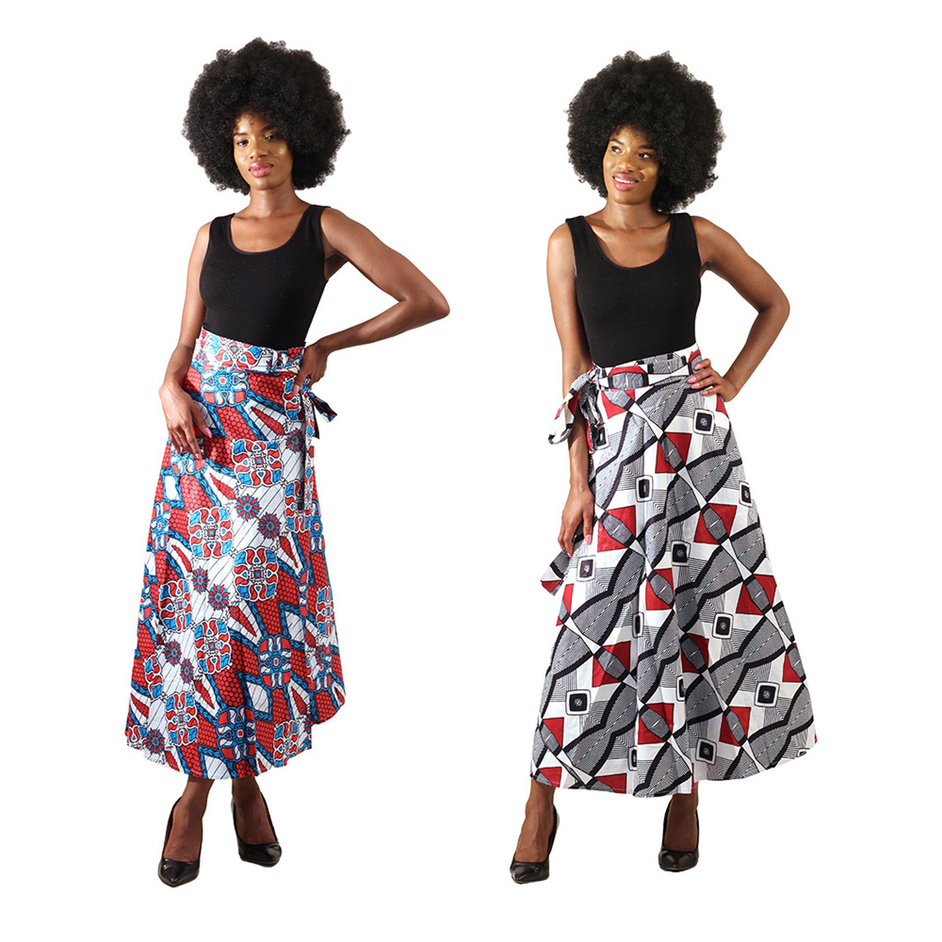 Picture of African Print Long Skirt