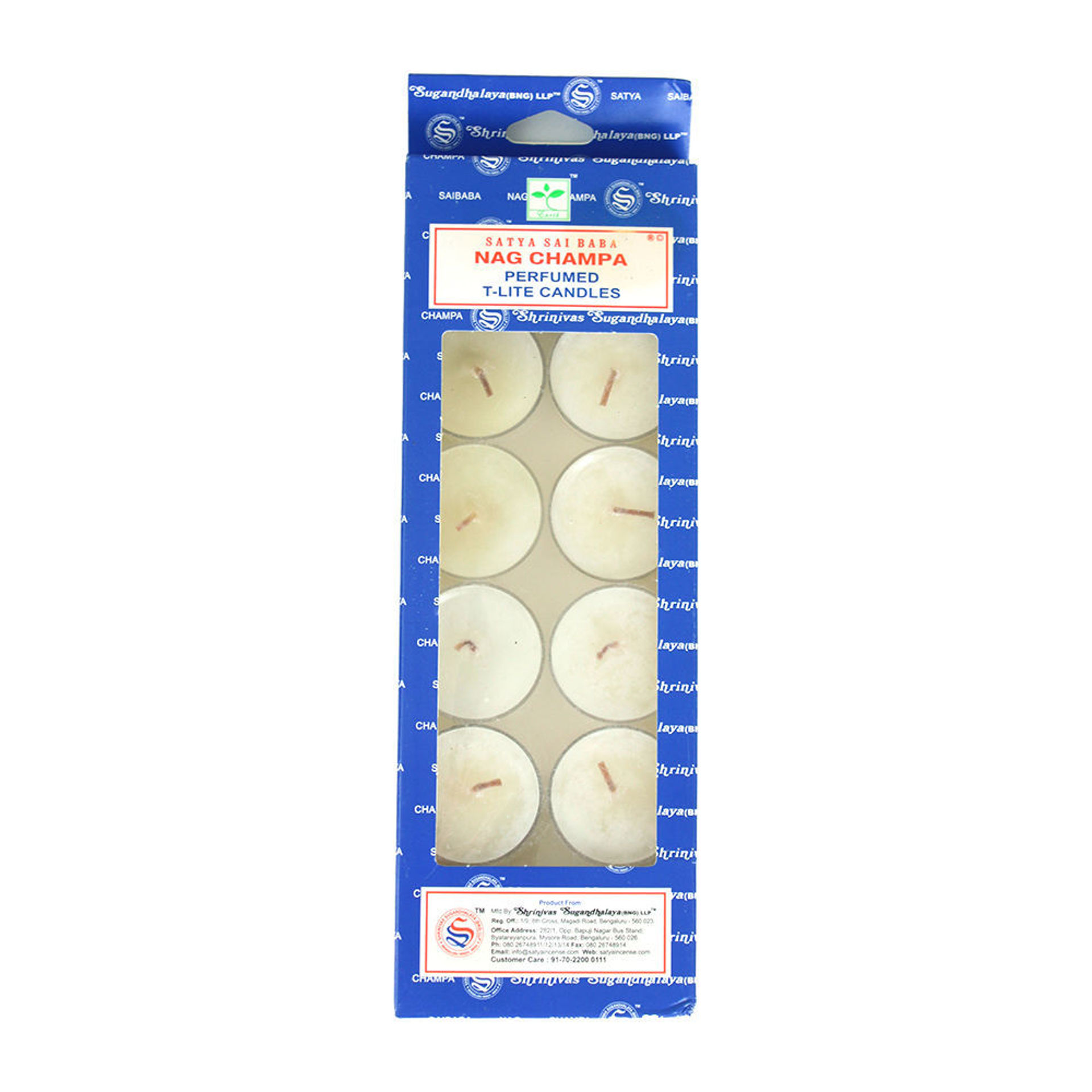 Picture of Nag Champa Tea Light Candles - Set Of 12