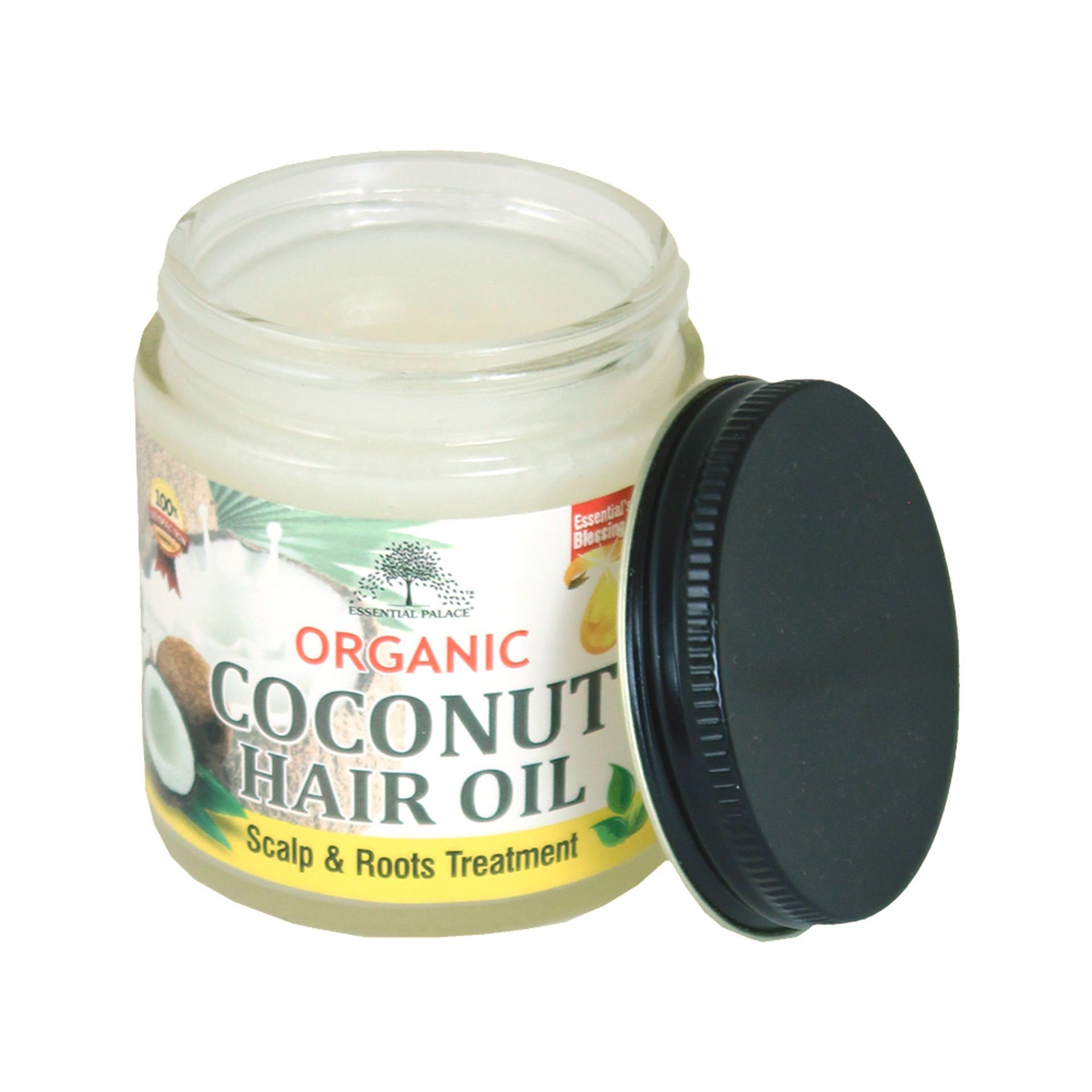 Picture of Organic Coconut Oil Hair Pomade